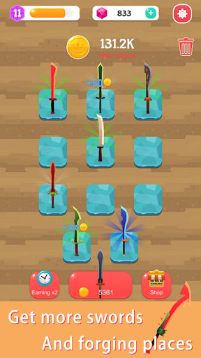 Merge Sword - Idle Blacksmith Master  screenshots 14
