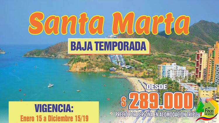 Paquetes Turísticos a Santa Marta