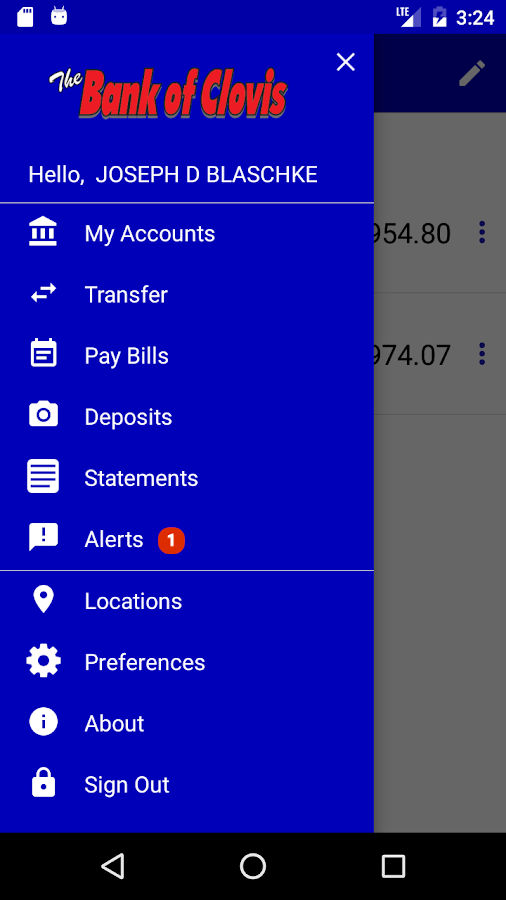 The Bank of Clovis Mobile- screenshot