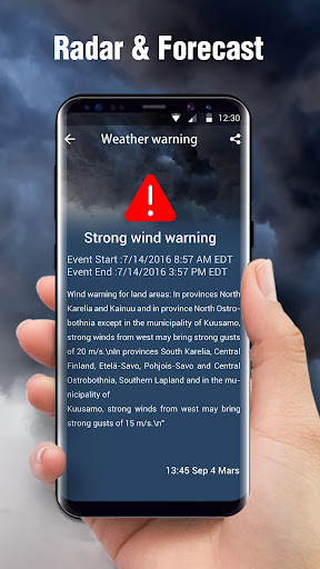 Weather radar & Global weather 16.6.0.6243_50109 Screenshots 1