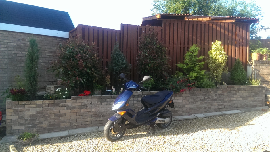 Moped stolen from housing estate