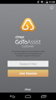 Screenshot of GoToAssist (Customer) OS <4.2