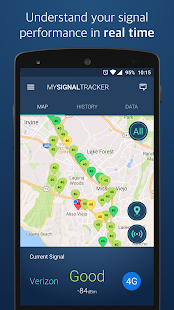 My Signal Tracker Coverage Map- screenshot thumbnail