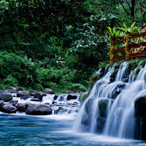 Dalitiwan by Jed Ivan Javillo - Landscapes Waterscapes ( water, falls, resort, flow, river )