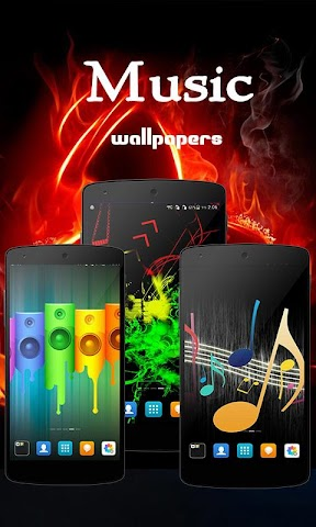 android Music Wallpapers Screenshot 0