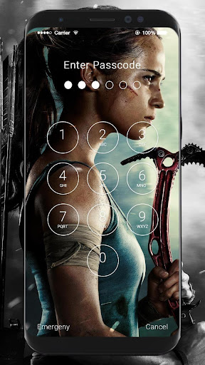Tomb Raider HD Wallpapers Lock Screen 1.0 screenshots 8