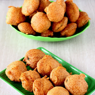 Z for Zucchini Bajji – Deep Fried Battered Zucchini.