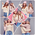 Photo Collage Grid Layouts Beauty Camera icon