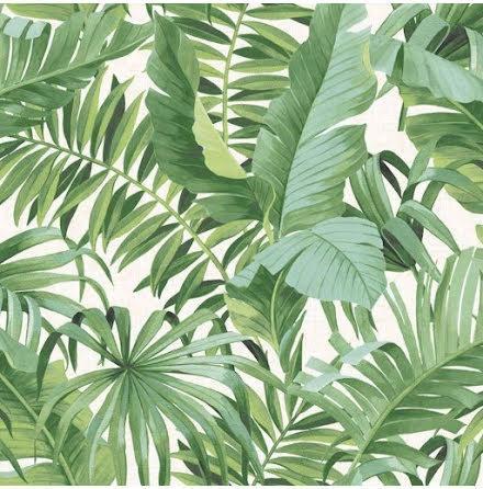 Fine Decor A-Street Prints Solstice Tapet med palmlöv