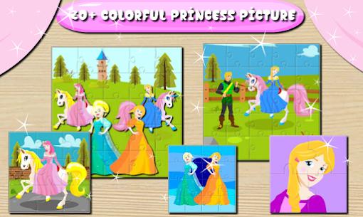 Princess Puzzle & Dressup : Little Bee Kids 1