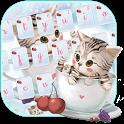 Cute Cup Kitty Keyboard Theme icon