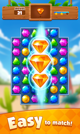 Jewel Adventure - Match 3 In Temple & Jungle - screenshot