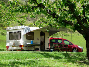 Photo: et son superbe camping