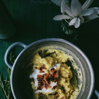Kefir & Pancetta Mashed Potatoes