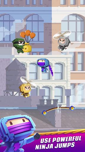 Ninja Up! - Endless arcade jumping  screenshots 1