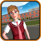 Virtual High School Girl icon