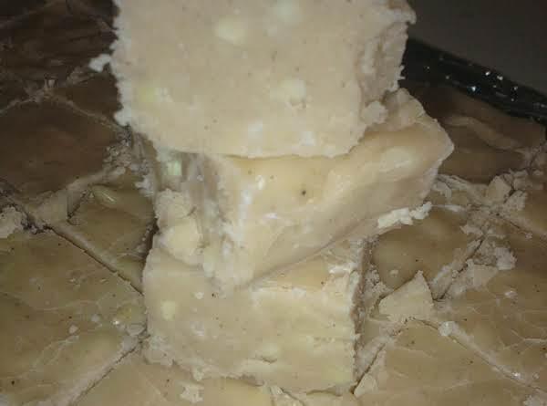 Secret Eggnog Fudge Recipe