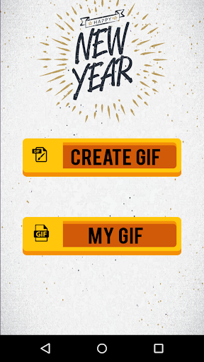 New Year 2019 GIF Maker with Name 1.5 screenshots 1