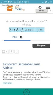 Download temp mail 100 domains pro Apk 1 0,com thunkable android