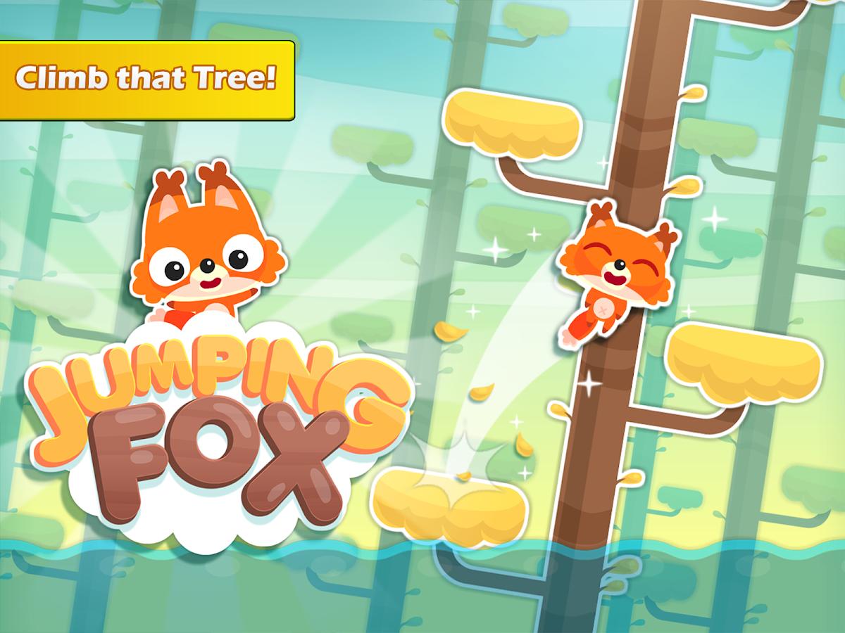 Jumping Fox: Climb That Tree! Screenshot 1