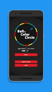 Ball in Color Circle - náhled