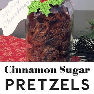 Cinnamon Sugar Pretzel.