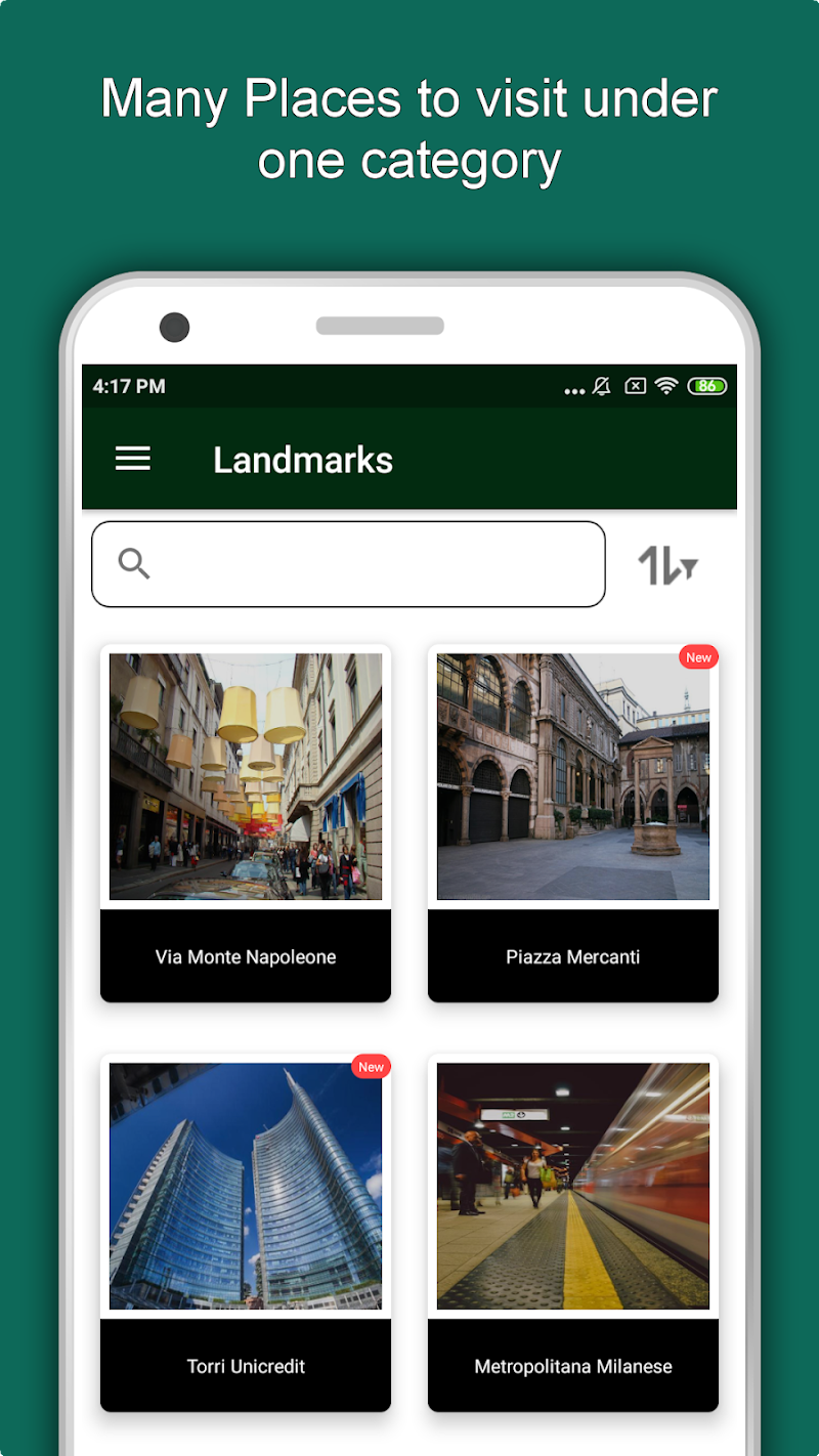 Скриншот Milan Travel & Explore, Offline Tourist Guide