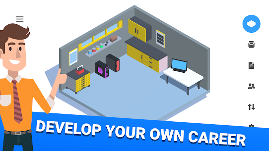 PC Creator Pro – PC Building Simulator Mod Apk (Unlimited Bitcoins) 1.0.75 1