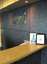 Photo: Bernardi Toyota Scion of Framingham proudly displaying their BBB Accreditation.
