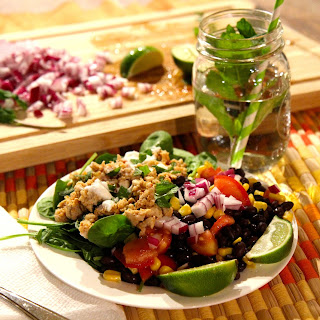 Turkey Taco Salad - Healthy Tex Mex!