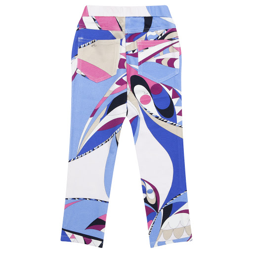 Thumbnail images of Emilio Pucci Patterned Leggings