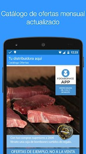 Food service App- screenshot thumbnail