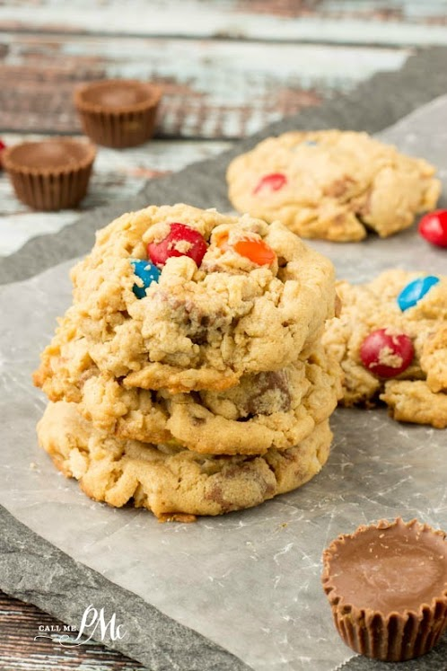 Soft Peanut Butter Oatmeal Cookie