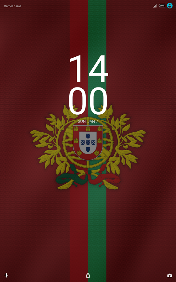 2018 World Cup Portugal Theme for XPERIA- screenshot