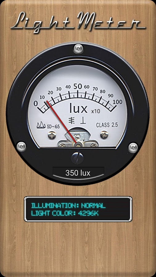 Light Meter- screenshot