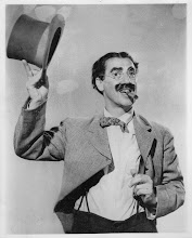 Photo: Scanned Groucho Marx Photo. Photo bought from flea market in Union Square, NYC, early 1980s.