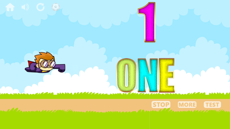 1 to 100 number counting game- screenshot