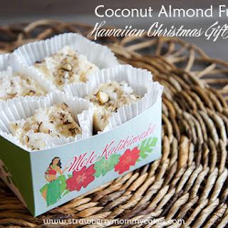 Coconut Almond Fudge and Hawaiian Christmas Gift Printable