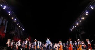 La OCAL, en su concierto de Feria del año pasado, dedicado al Salvaje Oeste.