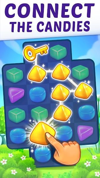 Gummy Paradise - Free Match 3 Puzzle Game