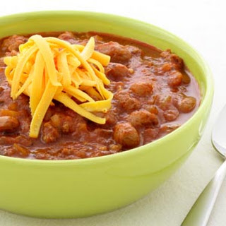 Beef and Beer Chili.