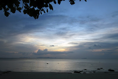 Stormy weather in the Andaman Sea