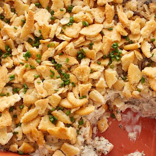 Poppy Seed Chicken and Rice Casserole