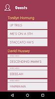 Screenshot of Vocal Ease