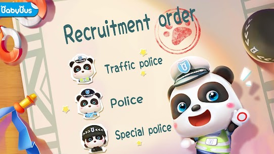 Little Panda Policeman 1