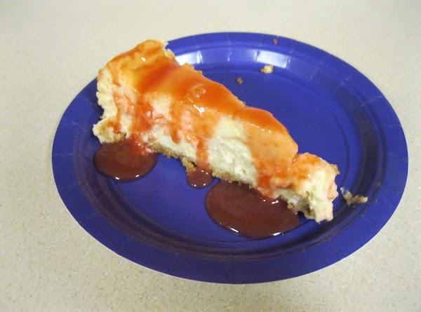 Pineapple Cheesecake With Guava Glaze Recipe