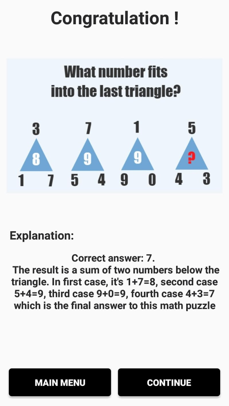 Hardest Math Riddles and Puzzles PRO 2019 Screenshot 2