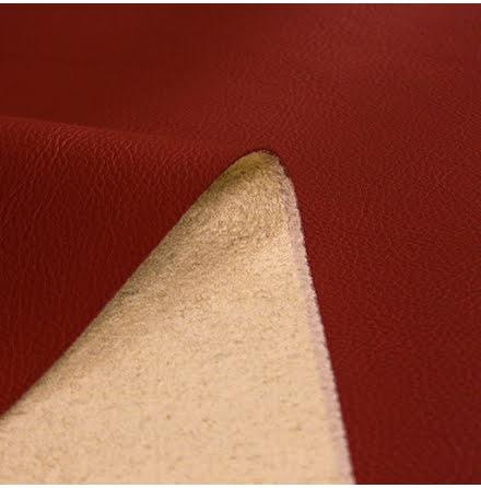 Läderimitation - röd