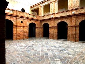 Photo: Courtyeard, Centro de Arte Contemporáneo, Quito