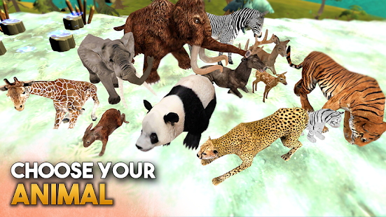 Animal Sim Online: Big Cats 3D- screenshot thumbnail
